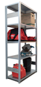 "Industrial Shelving Add-on Bay - 39"" wide x 20"" deep x 82"" high with 6 Shelves"