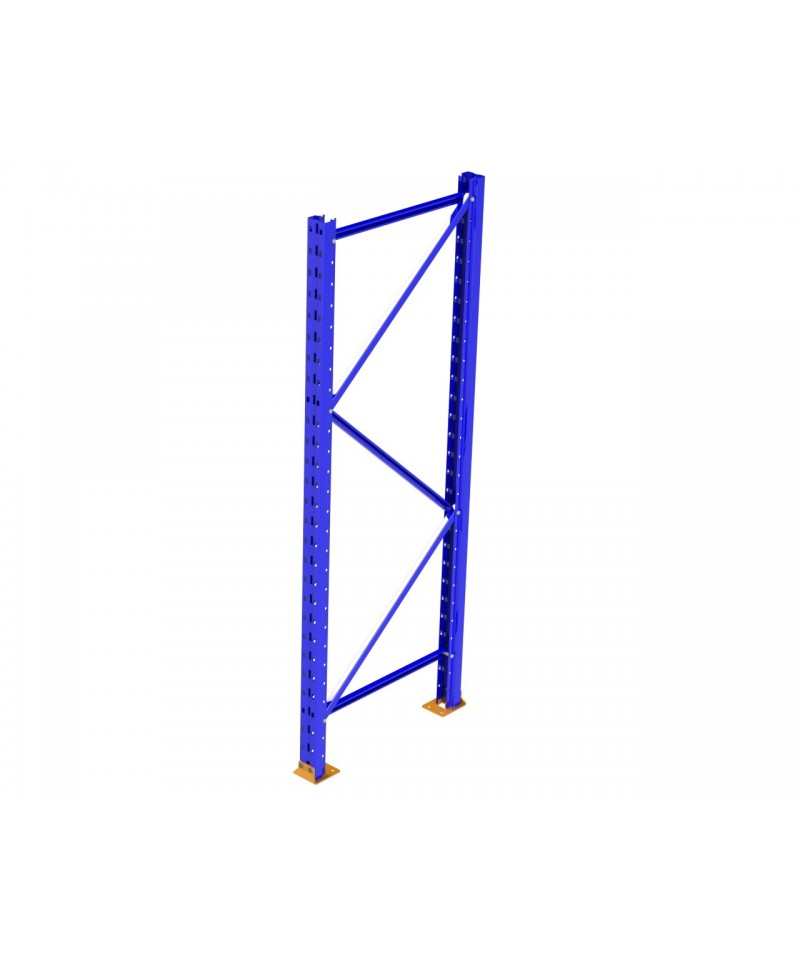 "Racking Frame - Bolted - New - RR Punch - 42"" D x 192"" H, Mercury Blue"