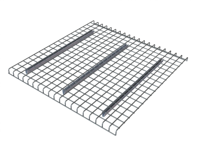 "[md42] Racking Accessory Wire Mesh Deck New 42""W x 52""L Grey"