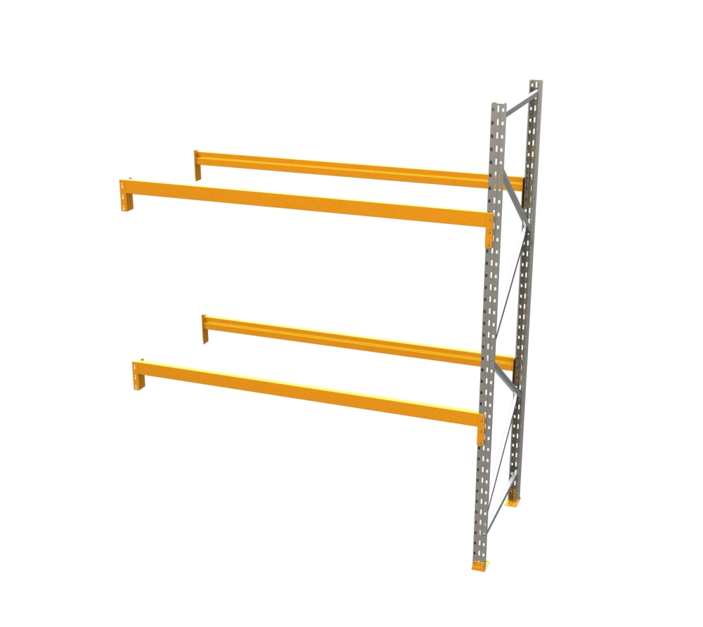 Racking - Add on Bay - 10' H x 8' W - with 2 Beam Levels