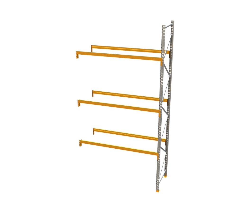 [CW] Racking - Add on Bay - 16' H x 8' W - with 3 Beam Levels