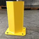 "[pp12-cog] Post Protector New Floor Mount 12""H, Safety Yellow"